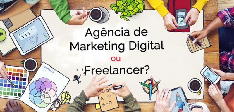 agência ou freelancer quem contratar