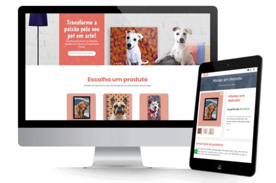 Criação do e-commerce PetLoveArt