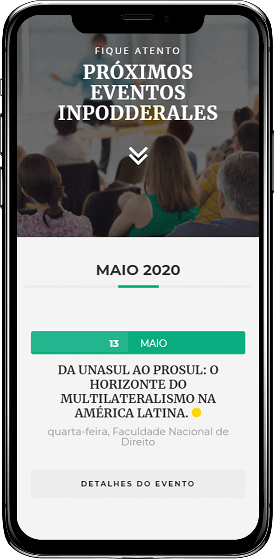 Criação de site responsivo gerenciável Inpodderales