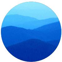 Conceito para criação de identidade visual - montanhas