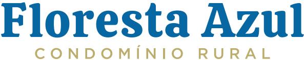 Criação do logotipo Floresta Azul Condomínio Rural